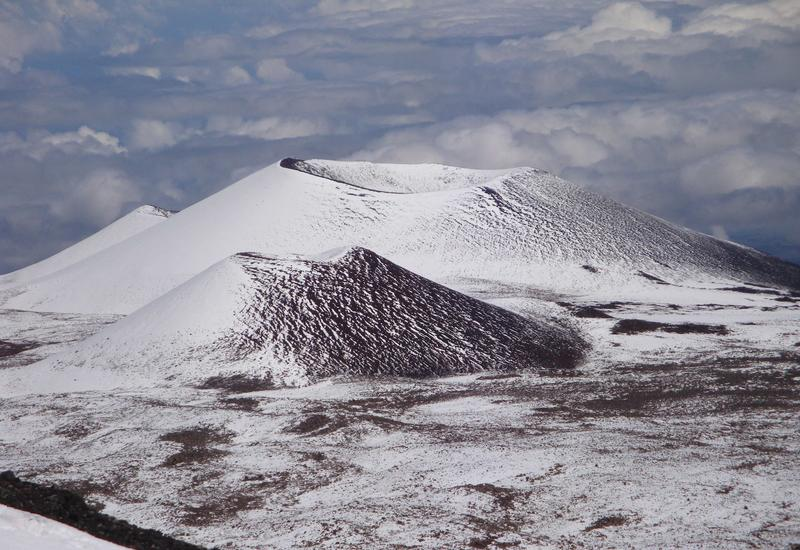 На Гавайях выпало 90 см снега