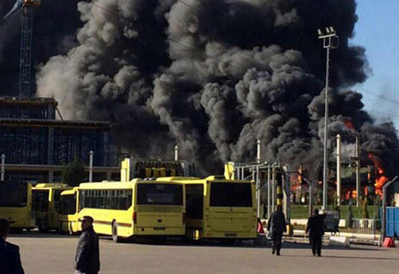 Сильный пожар в Турции, есть погибший