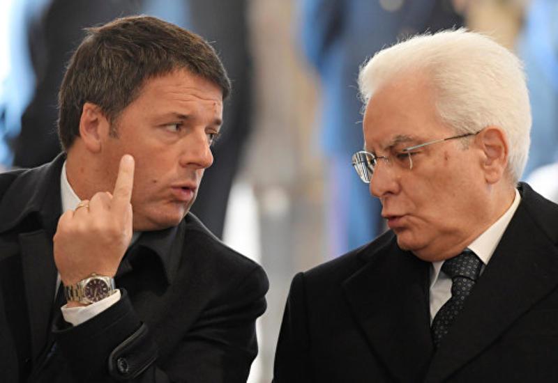 Президент Италии попросил премьер-министра отложить свою отставку