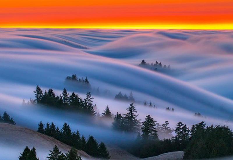 """Фотографу удалось заснять умопомрачительные волны тумана над Сан-Франциско <span class=""""color_red"""">- ФОТО</span>"""
