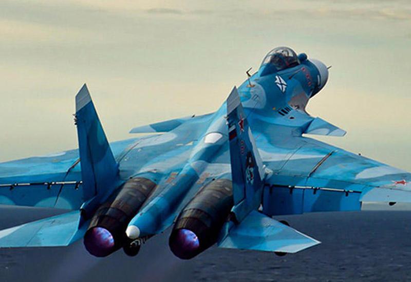 """Российский истребитель Су-33 рухнул в море <span class=""""color_red"""">- ФОТО</span>"""