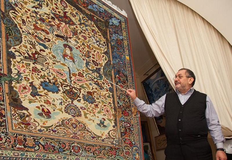 Эльдар Микаилзаде приглашает всех в путешествие в историю ковра