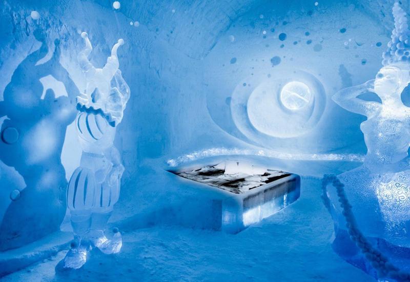 """В Швеции открылся первый в мире круглогодичный отель изо льда <span class=""""color_red"""">- ВИДЕО</span>"""