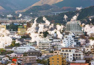 Вход в преисподнюю: японский город Беппу, который стоит на вулкане