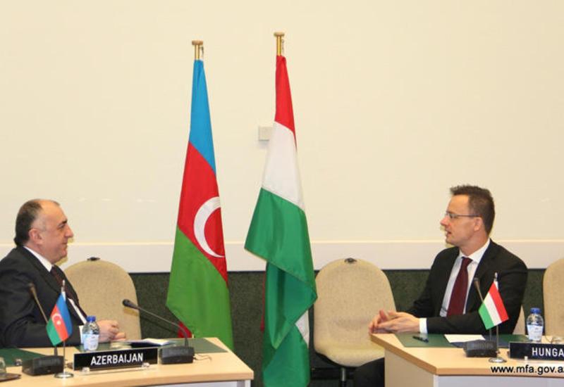 Эльмар Мамедъяров и Петер Сийярто обсудили перспективы сотрудничества
