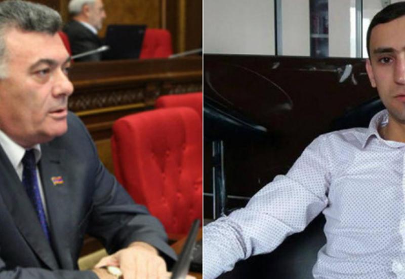 Армянский депутат избил журналиста