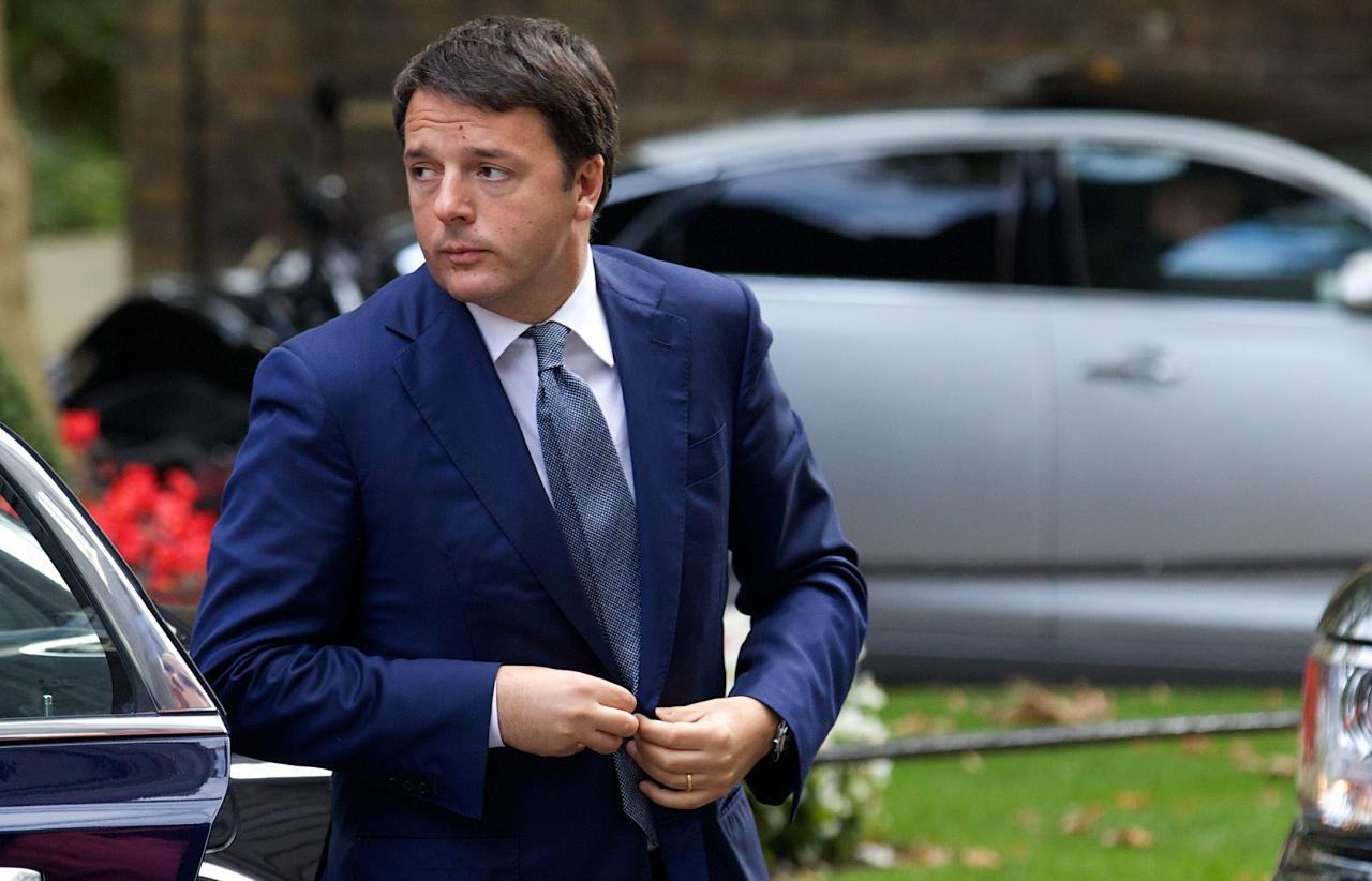 Сегодня Ренци подаст вотставку споста премьера Италии