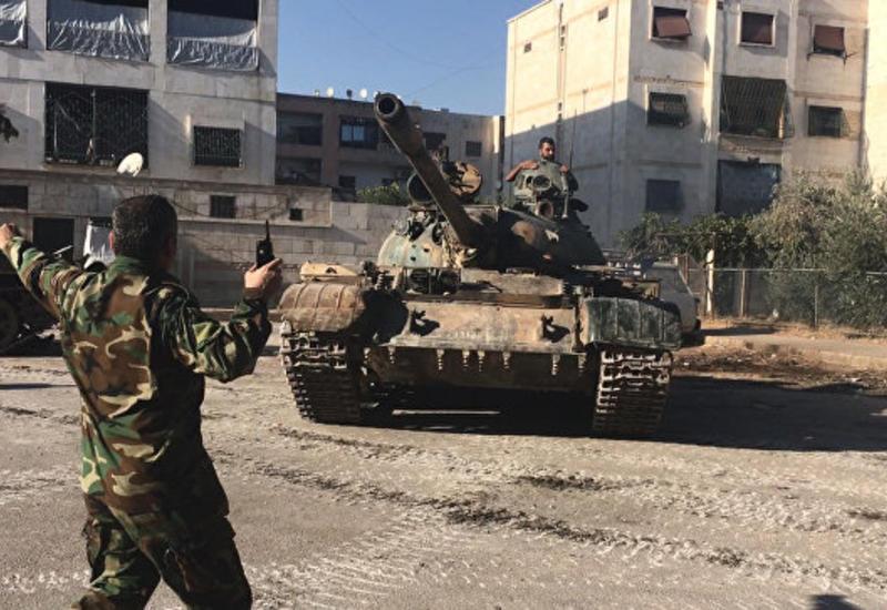 Армия Сирии приостановила наступление в районах Дамаска и Идлиба
