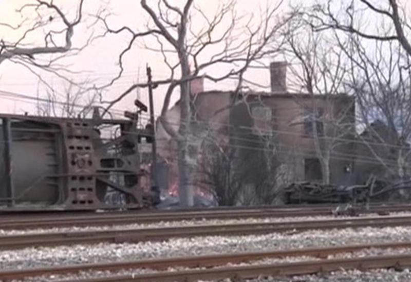 Взрыв поезда стер с лица земли часть населенного пункта в Болгарии