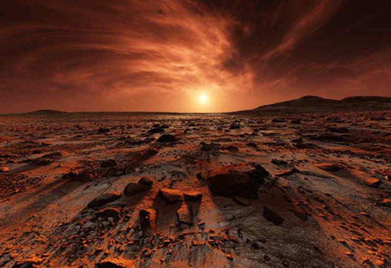 """Европейское космическое агентство показало крупнейшую долину Марса <span class=""""color_red"""">- ВИДЕО</span>"""