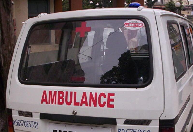В Индии рухнул вертолет