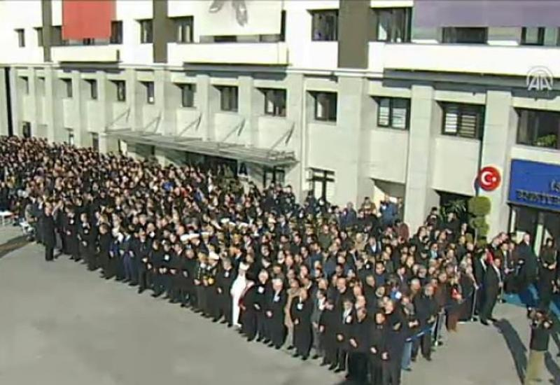В Стамбуле прошла церемония прощания с жертвами теракта