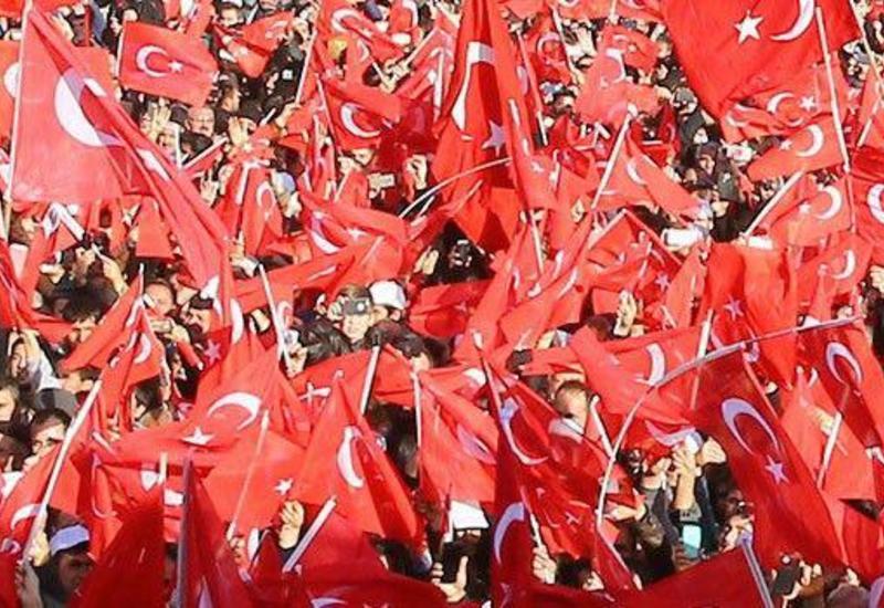 İstanbulda terrora qarşı etiraz yürüşü başladı