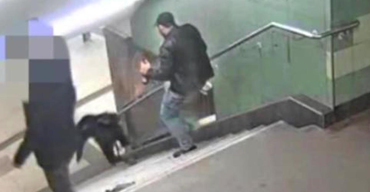 ВБерлине задержан подозреваемый вжестоком нападении надевушку вметро