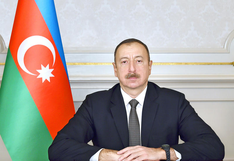 Президент Ильхам Алиев поздравил короля Иордании