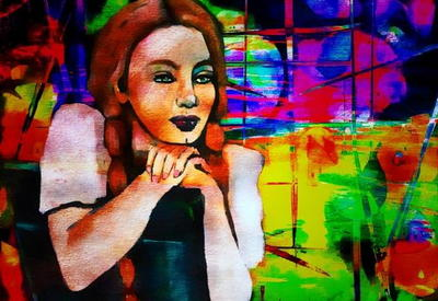 """Картинная галерея"" Day.Az: Яркие эмоции Карен Зима <span class=""color_red"">- ФОТО</span>"