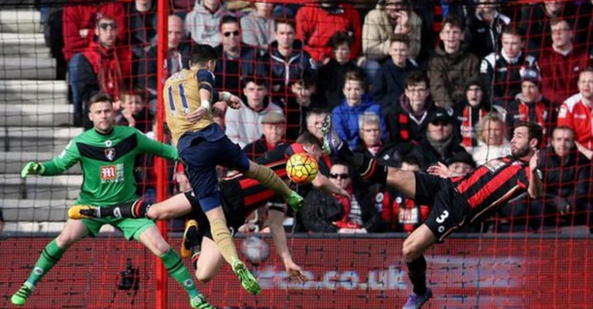 «Арсенал» ушел отпоражения вматче с«Борнмутом», уступая 0:3