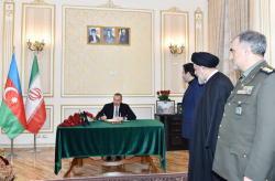 Президент Ильхам Алиев: Я и впредь буду стараться развивать ирано-азербайджанские дружественные и братские связи - ФОТО