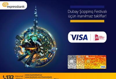 Expressbank Visa kart sahiblərinə eksklüziv təkliflər elan edir