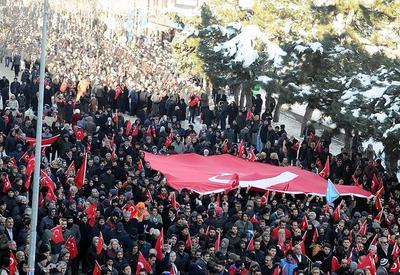 В Турции прошла акция протеста против РПК