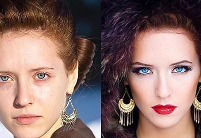 """С макияжем и без него: невероятные перевоплощения <span class=""""color_red"""">- ФОТО</span>"""
