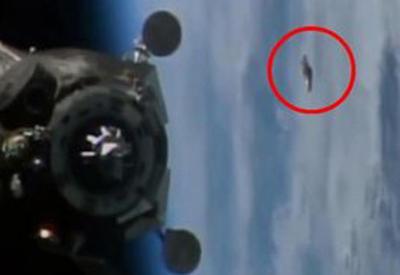 "Астронавты с МКС сняли НЛО на камеры <span class=""color_red"">- ВИДЕО</span>"