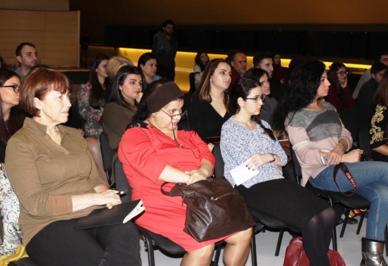 """В Музее ковра обсудили вопросы зарождения ковроткачества в Азербайджане <span class=""""color_red"""">- ФОТО</span>"""