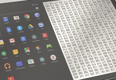 """Инженеры создали планшет для слепых <span class=""""color_red"""">- ВИДЕО</span>"""