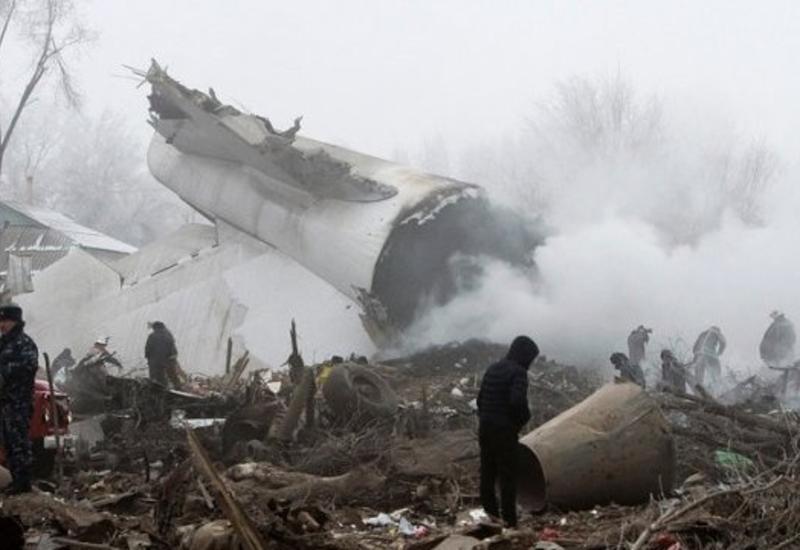 Растет число жертв авиакатастрофы под Бишкеком