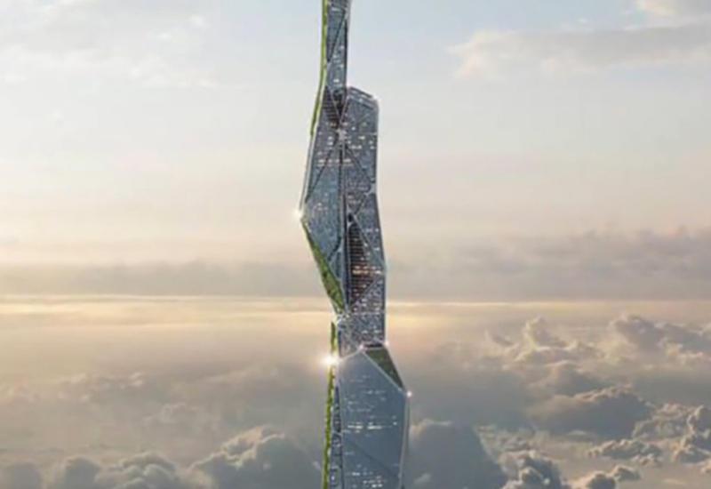 """Разработан 5-километровый небоскреб, поглощающий смог <span class=""""color_red"""">- ВИДЕО</span>"""