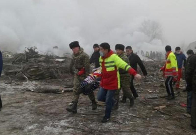Найдено тело еще одного члена экипажа разбившегося в Бишкеке Boeing