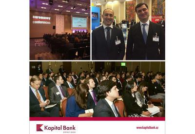 Kapital Bank участвует в форуме Euromoney – 2017