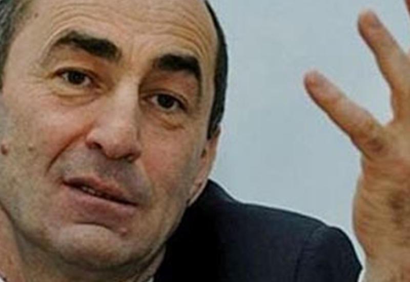 Роберт Кочарян прячется от армян