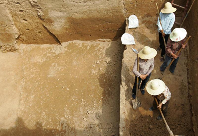 В Китае обнаружены древние гробницы