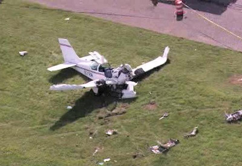 В Испании разбился самолет, есть жертвы