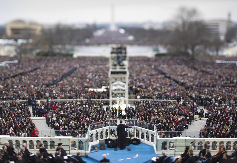 Более 900 тысяч человек собрались на инаугурацию Трампа