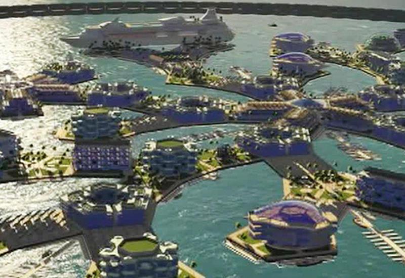 """Американцы хотят построить плавучий город будущего в Тихом океане <span class=""""color_red"""">- ВИДЕО</span>"""
