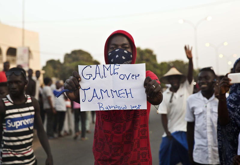 Войска стран Западной Африки вошли в столицу Гамбии