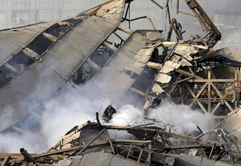 в Тегеране жертвами обрушения многоэтажного дома стали семь человек