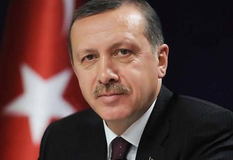 Президент Турции Реджеп Тайип Эрдоган поздравил Мехрибан Алиеву с назначением на пост Первого вице-президента Азербайджана