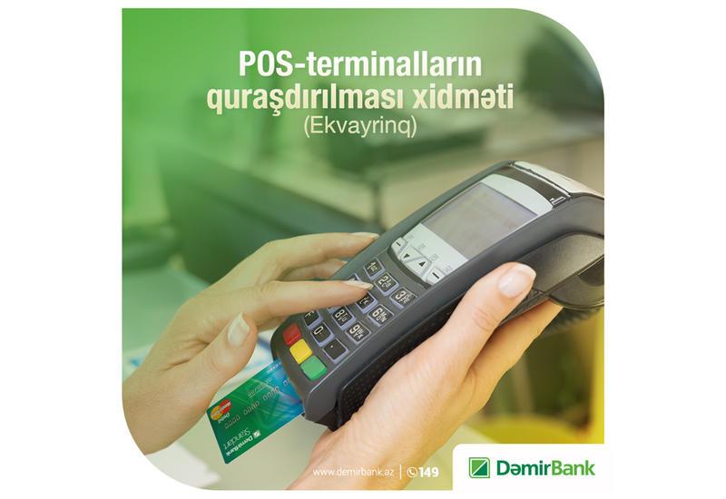 DəmirBank-la nağdsız ödənişlərin üstünlüklərindən faydalanın