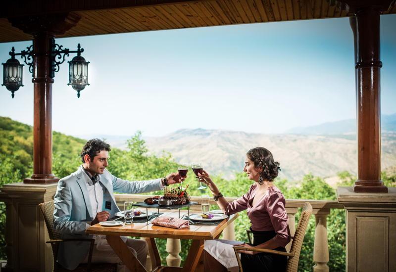 Sharadil - ресторан для истинных знатоков азербайджанской кухни, где готовят незабываемые Levengi Gutabi