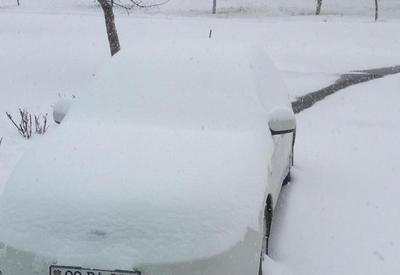 В Азербайджане выпало 70 см снега