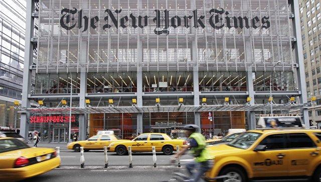 Белый дом порекомендовал газете The New York Times извиниться перед Трампом