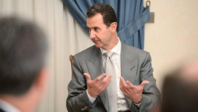 Башар Асад проинформировал, когда онуйдет споста президента Сирии