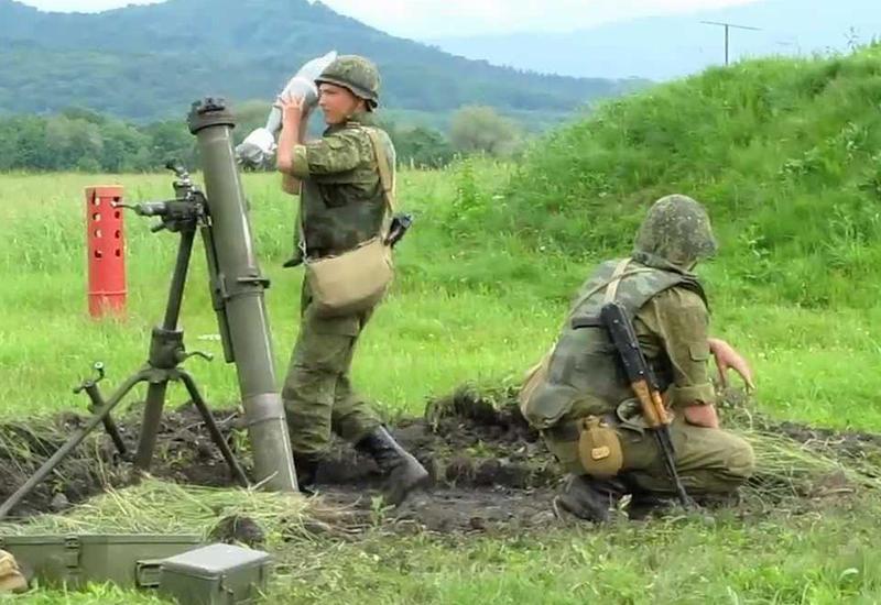 """ВС Армении устроили массированный обстрел из минометов <span class=""""color_red"""">- ДАННЫЕ МИНОБОРОНЫ АЗЕРБАЙДЖАНА</span>"""