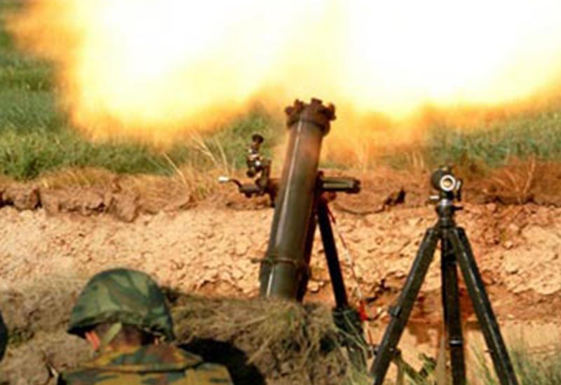 ВС Армении устроили массированный обстрел из пулеметов и минометов