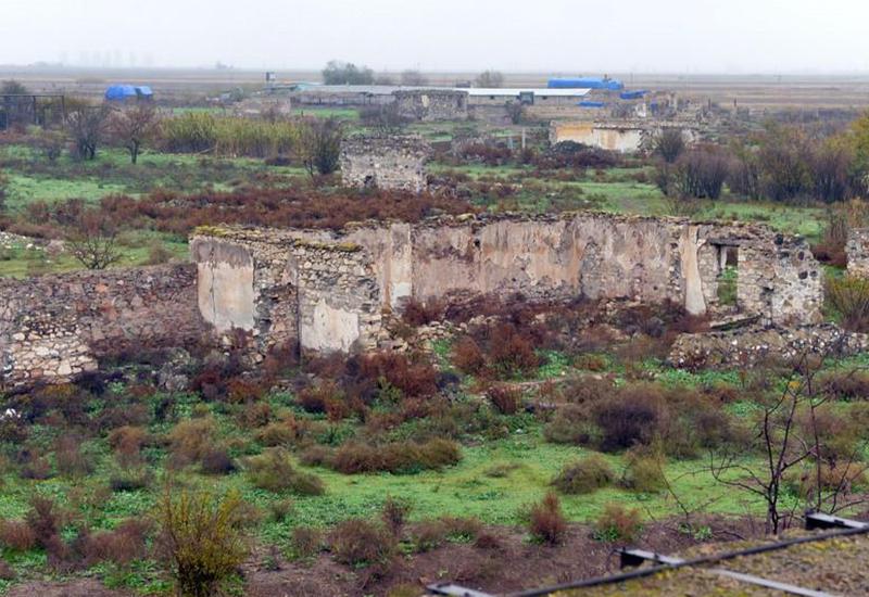В селе Джоджуг Марджанлы началось строительство школы