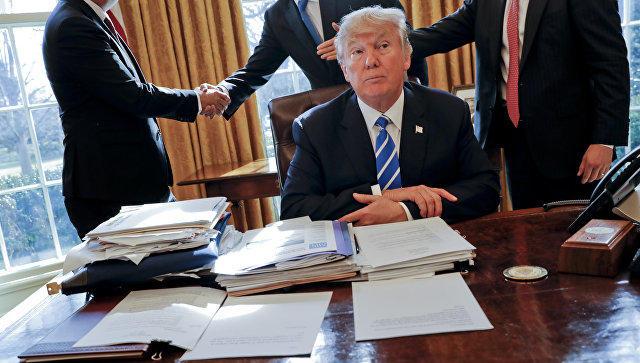 Трамп: поддельные американские СМИ мешают наладить отношения сРФ