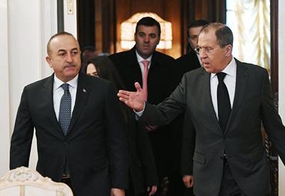 Лавров и Чавушоглу обсудили укрепление режима перемирия в Сирии